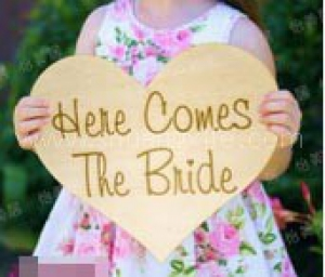 Here Comes The Bride (Heart)  (Rental Fees: S$20)
