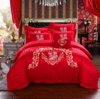 Love Story Bedding Set