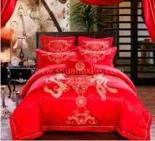 Dragon Phoenix Bedding Set