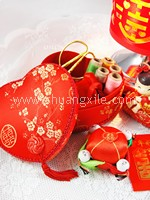 Mini Oriental Sewing Kit (Heart)