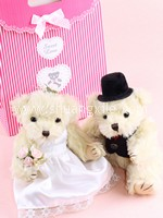 Handmade Wedding Teddy Bear