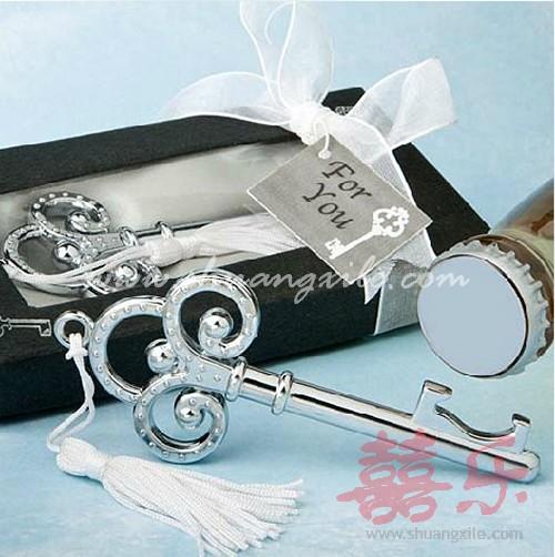key to my heart bottle opener wedding favors bottle stopper opener. Black Bedroom Furniture Sets. Home Design Ideas