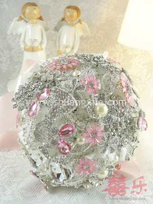 Love in Romance Pink Jewellery Bouquet