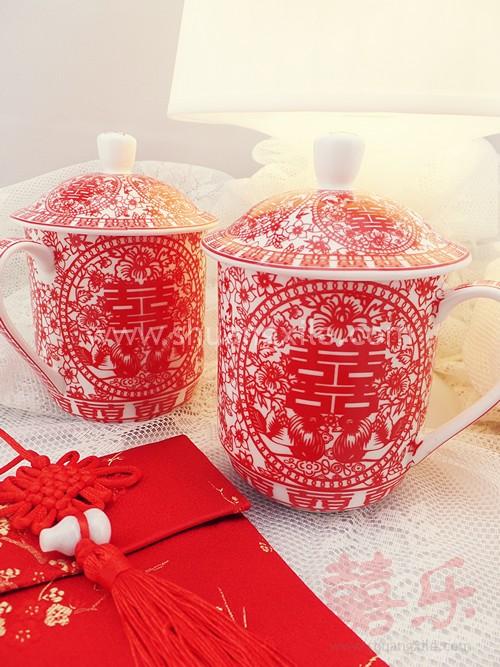 Paper Cut Mug Set