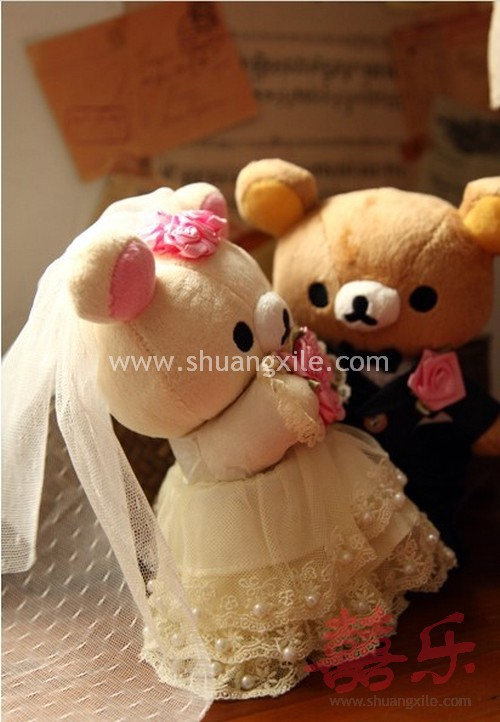 Rilakkuma Wedding Bear Wedding Plush Toys Wedding
