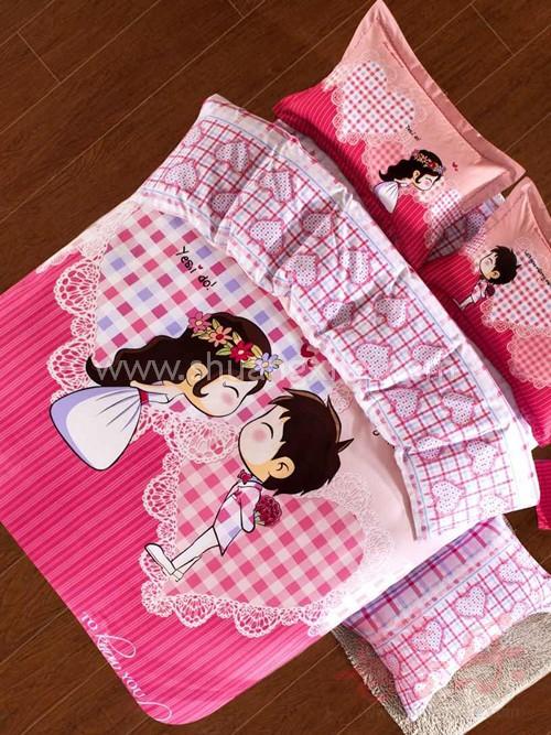Together wedding bedding set