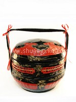 (Guo Da Li) Betrothal Basket Double Layer