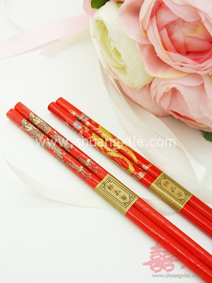 Dragon Phoenix Chopstick