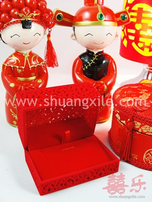 Oriental Earing Necklace Box